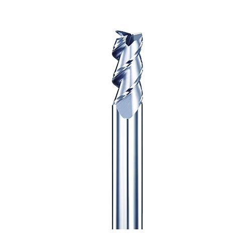 d10,0mm sarkos 3 élű alumínium keményfém maró - DHF - AEA1003