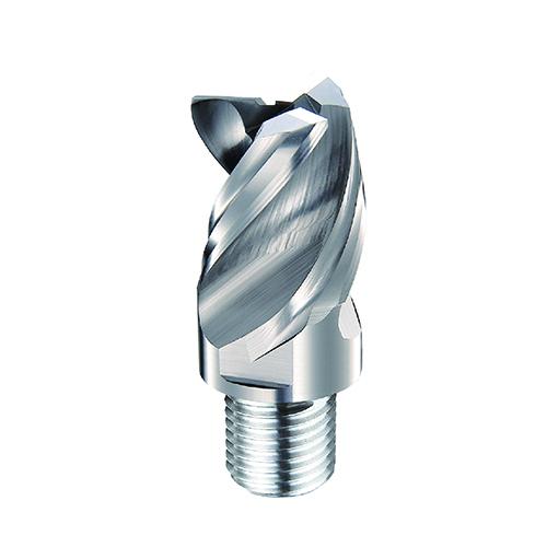 d25,0mm sarkos 3 élű  alumínium keményfém marófej - DHF - X-AES2503