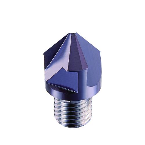 d10,0mm egyenes 3 élű 90°-os élletörő 3 élű  élletörő keményfém marófej - DHF - X-TD1003