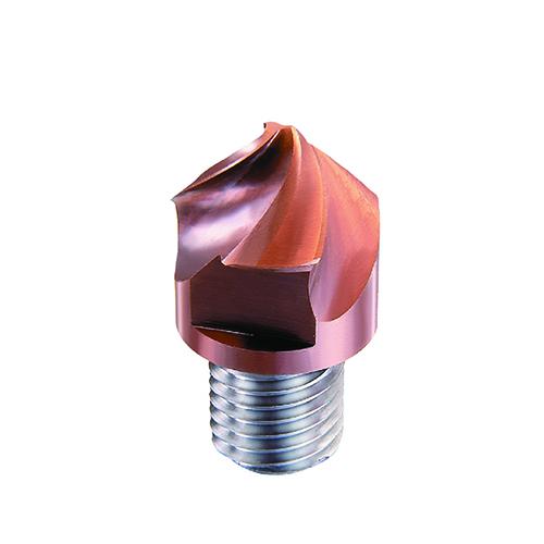 d8,0mm csavart 3 élű 90°-os élletörő keményfém marófej - DHF - X-TS0803