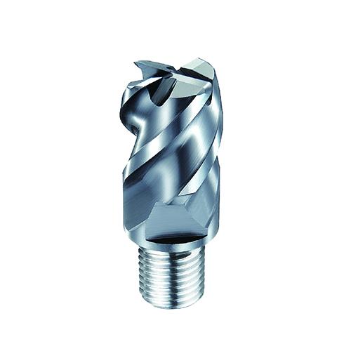 d12,0 R2,0mm tórusz 4 élű  keményfém marófej 65HRC-ig - DHF - X-UEXR1220