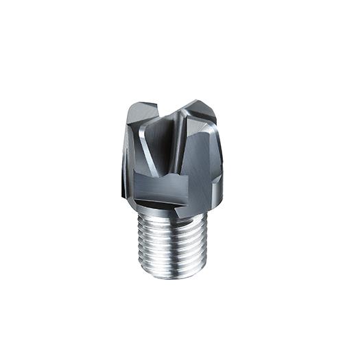 d8,0 R1,0mm tórusz 4 élű  keményfém marófej 65HRC-ig - DHF - X-UEYR0810