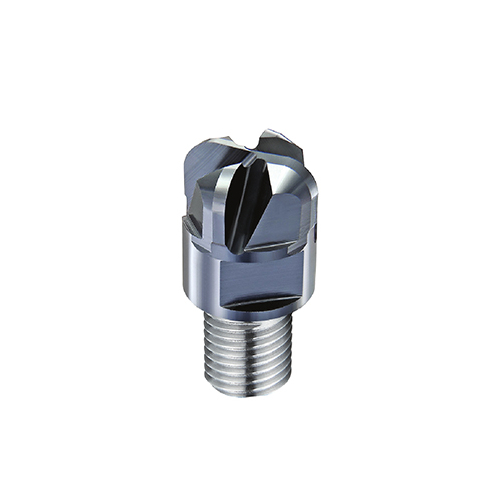 d8,0 R1,0mm tórusz 4 élű  keményfém marófej 65HRC-ig - DHF - X-UOR0810