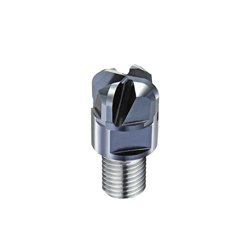 d12,0 R3,0mm tórusz 4 élű  keményfém marófej 65HRC-ig - DHF - X-UOR1230