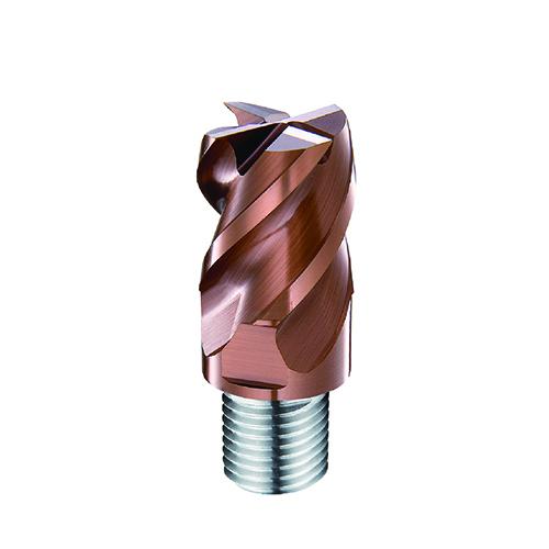 d8,0mm sarkos 4 élű  keményfém marófej 60HRC-ig - DHF - X-UPS0804