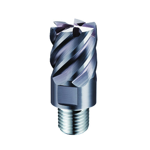 d8,0mm sarkos 6 élű  keményfém marófej 65HRC-ig - DHF - X-UVT0806